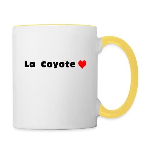 La Coyote - Mug contrasté