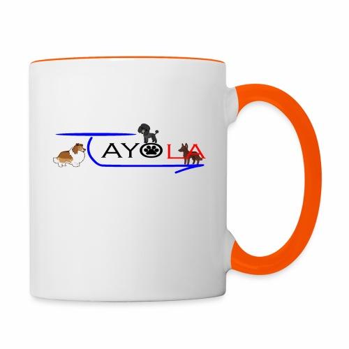 Tayola Black - Mug contrasté
