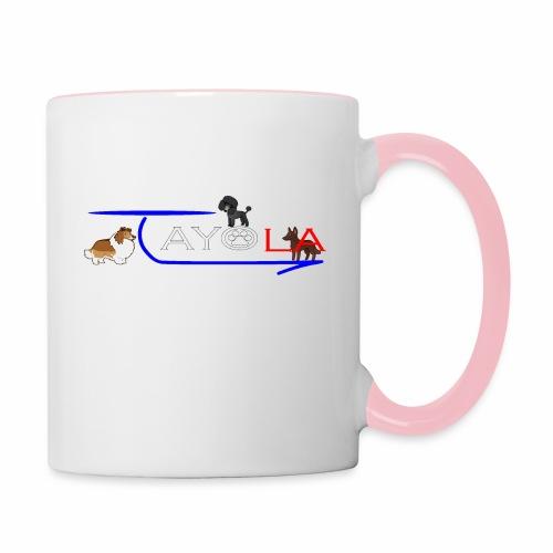 Tayola White - Mug contrasté