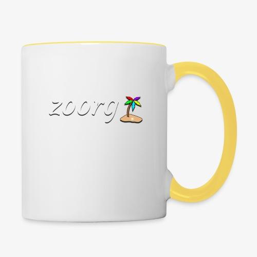 Zoorg with Logo - Contrasting Mug