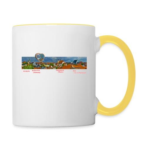 TasseAltstadt - Tasse zweifarbig