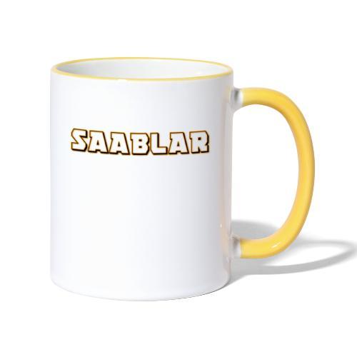 SAABLAR - Tvåfärgad mugg