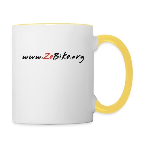 wwwzebikeorg s - Mug contrasté