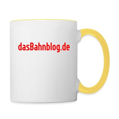 dasBahnblog de - Tasse zweifarbig