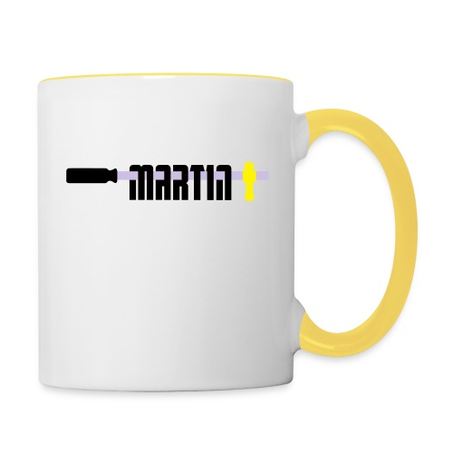 martin - Mok tweekleurig