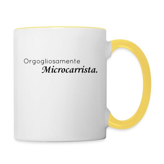Orgogliosamente Microcarrista.