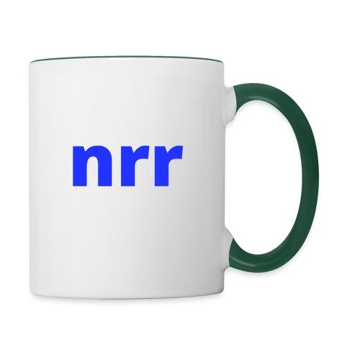 NEARER logo - Contrasting Mug