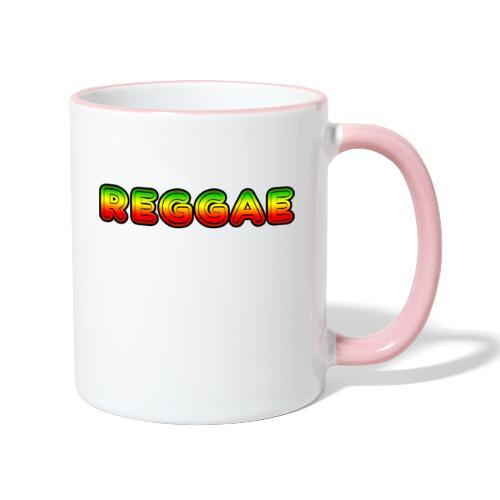 Reggae - Tasse zweifarbig