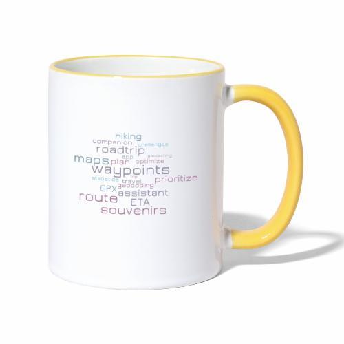 Cachetur.no Word Cloud - Contrasting Mug