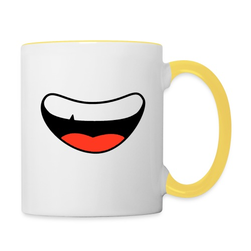 Colorful Smily Face - Contrasting Mug