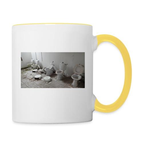 Toilets - Tofarvet krus