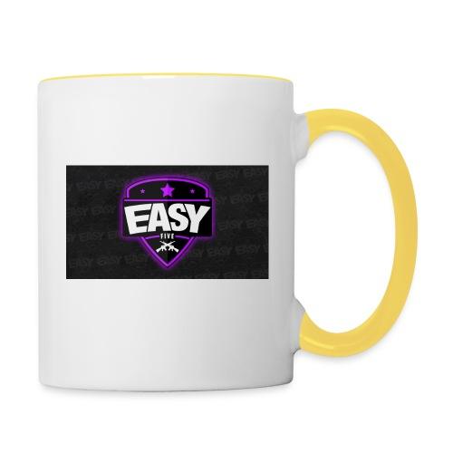 Team EasyFive muki - Kaksivärinen muki