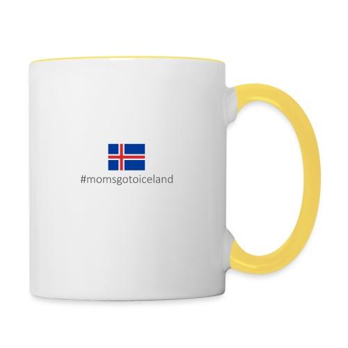 Iceland - Contrasting Mug