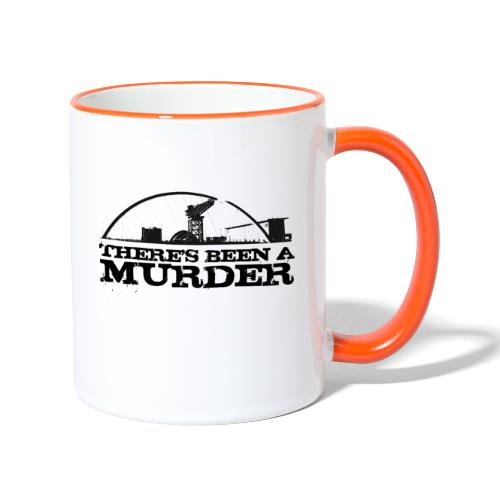 There's Been A Murder - Contrasting Mug