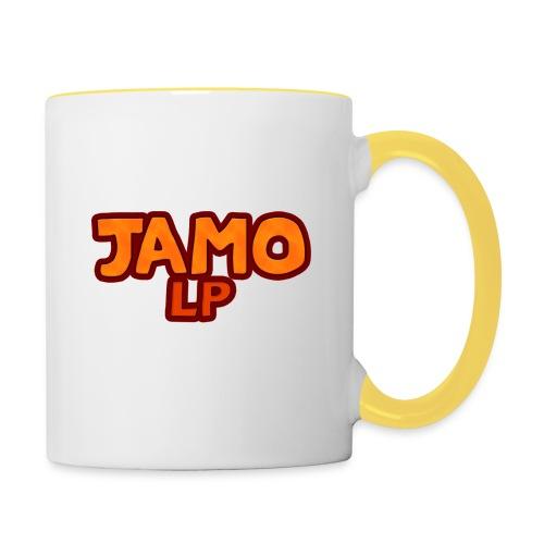 JAMOLP Logo T-shirt - Tofarvet krus