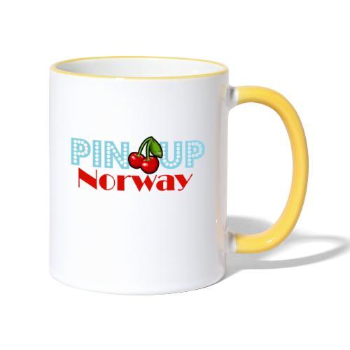 Pinup Norway Fan Club - Tofarget kopp