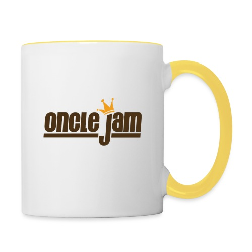 Oncle Jam horizontal brun - Mug contrasté