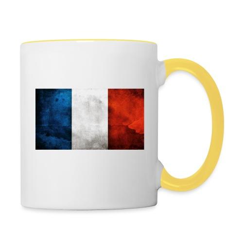 France Flag - Contrasting Mug