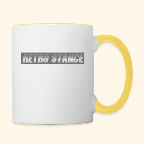 Retro Stance - Contrasting Mug
