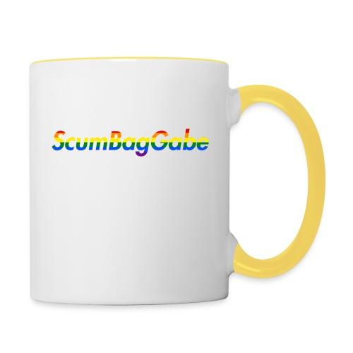 ScumBagGabe Multi Logo XL - Contrasting Mug
