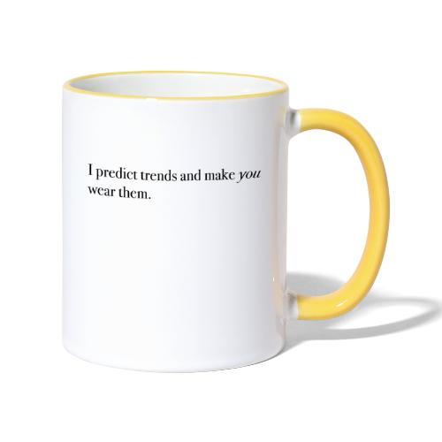 PREDICT TRENDS - Contrasting Mug