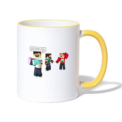 Mr Onion does it again! - Contrasting Mug