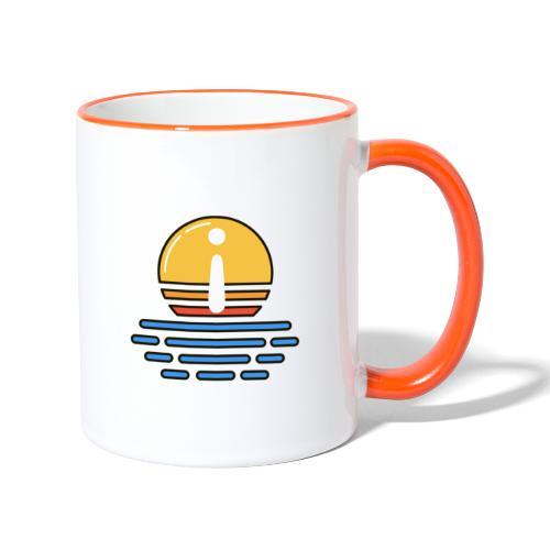 Mentor Dämmerung - Tasse zweifarbig