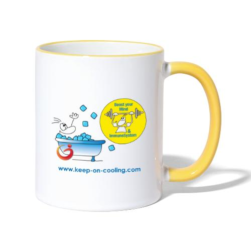 cool and boost - Tasse zweifarbig