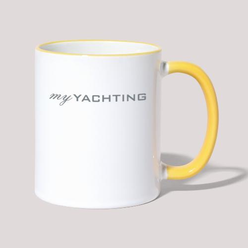 MyYachting - Tasse zweifarbig