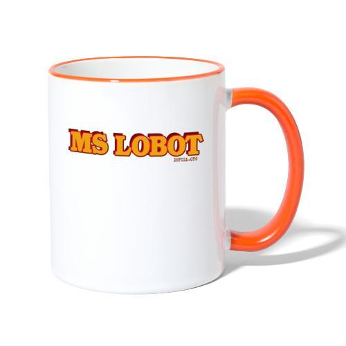 Ms Lobot - Mr Lobot Female Edition - Tasse zweifarbig