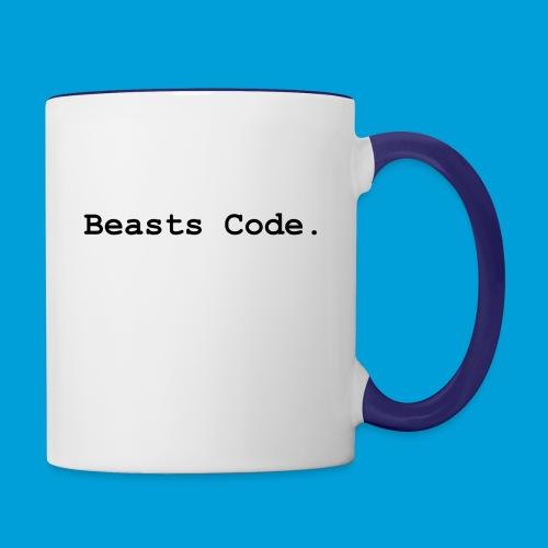 Beasts Code. - Contrasting Mug