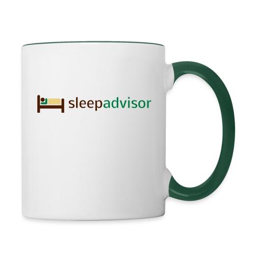 SleepAdvisor - Tazze bicolor