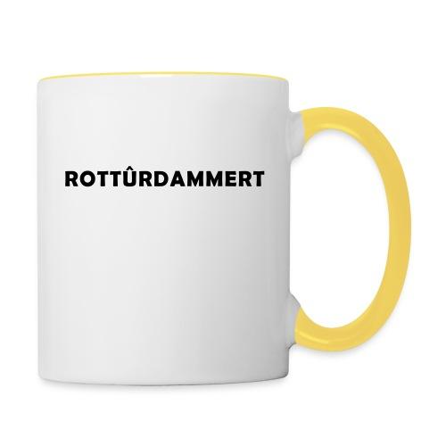 Rotturdammert - Mok tweekleurig