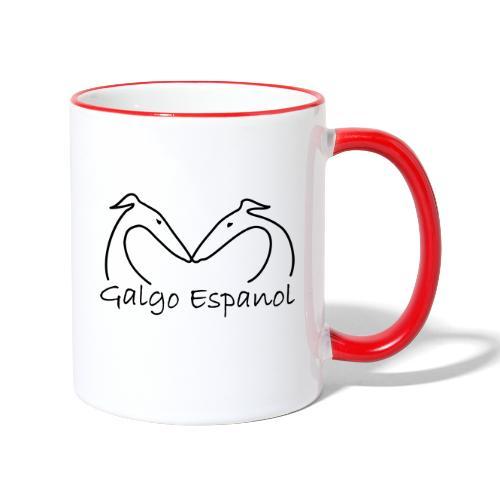 Galgopaar - Tasse zweifarbig