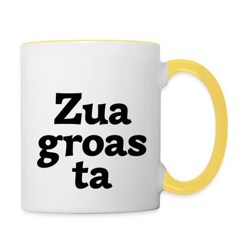 Zuagroasta - Tasse zweifarbig