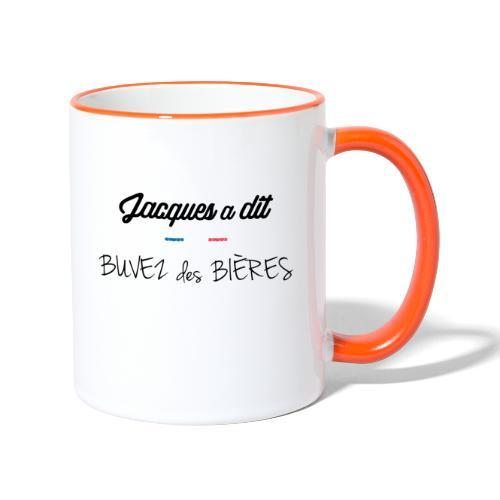 Buvez des bieres - Mug contrasté