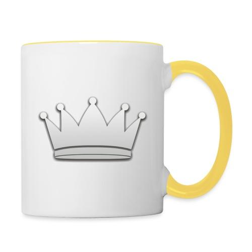 Paradise Online Crown Silver - Mok tweekleurig