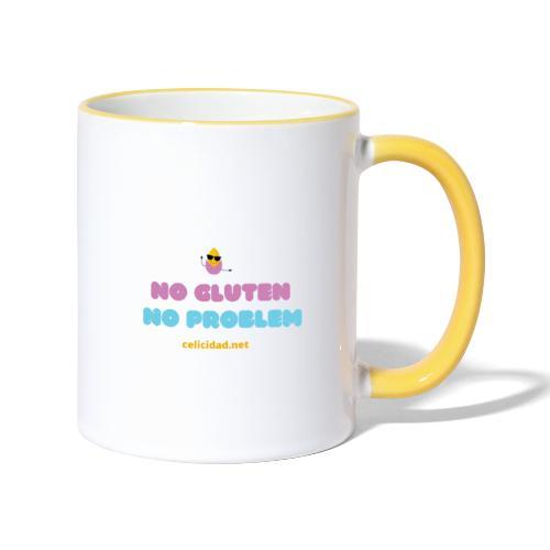 No Gluten No Problem 2 - Taza en dos colores