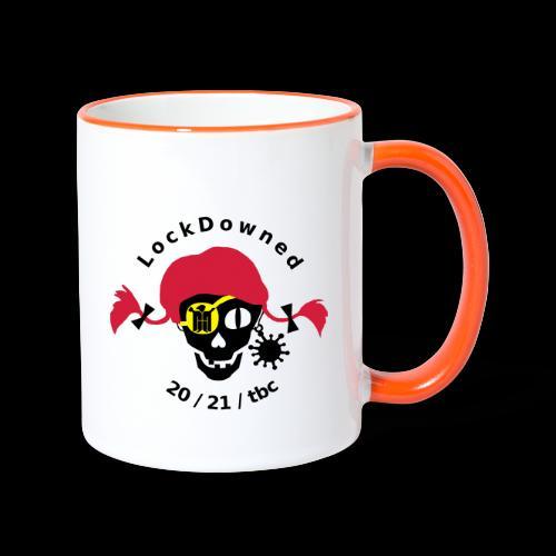 LockDowned - Tasse zweifarbig