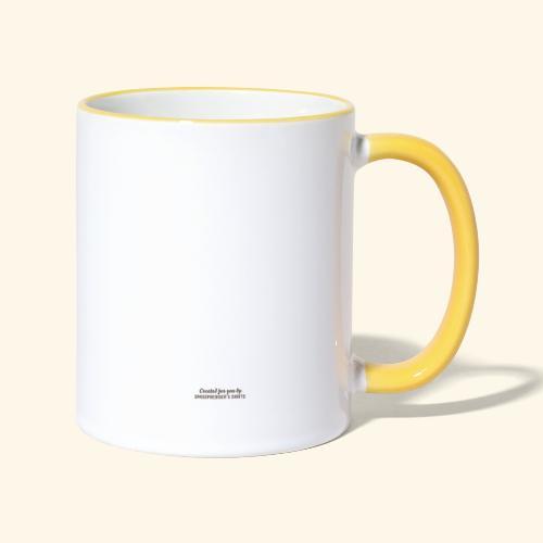 Gröditz - Tasse zweifarbig