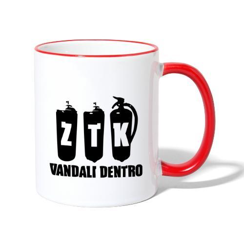 ZTK Vandali Dentro Morphing 1 - Contrasting Mug