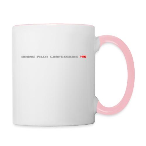 I CRASH A LOT - Contrasting Mug