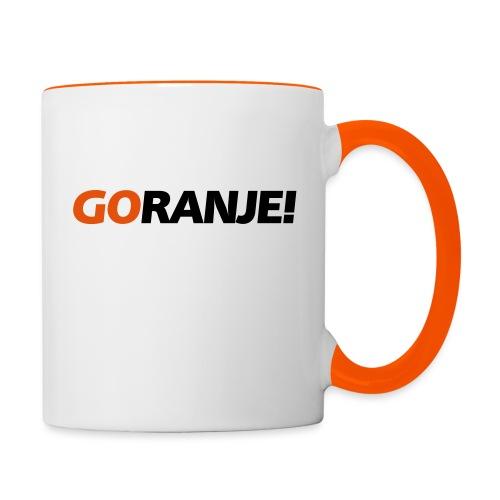 Go Ranje - Goranje - 2 kleuren - Mok tweekleurig