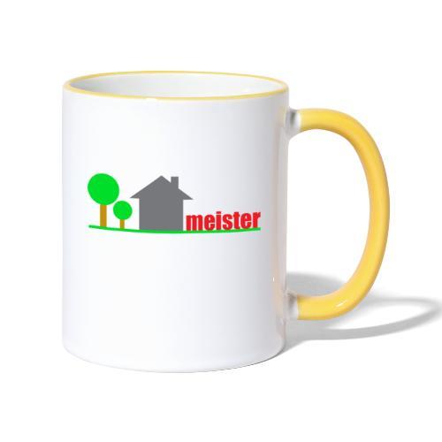 Hausmeister - Tasse zweifarbig