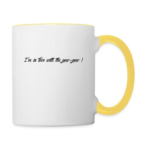 Pow-pow - Mug contrasté