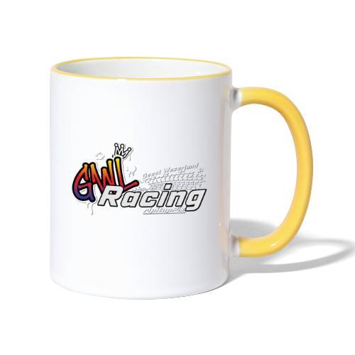 GWL-Racing inkl. Schatten - Tasse zweifarbig