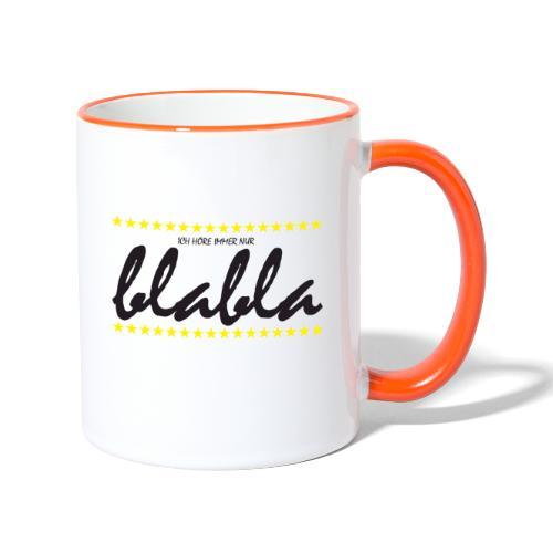 Blabla - Tasse zweifarbig