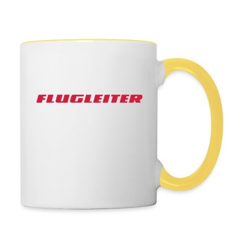 flugleiter - Tasse zweifarbig