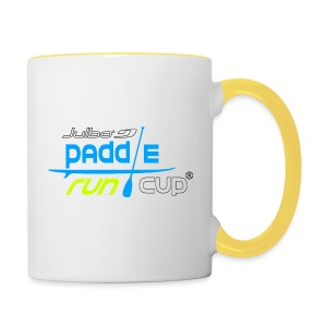 SPREADSHIRT_Logos_Paddle_Run_v3_-3- - Tasse bicolore
