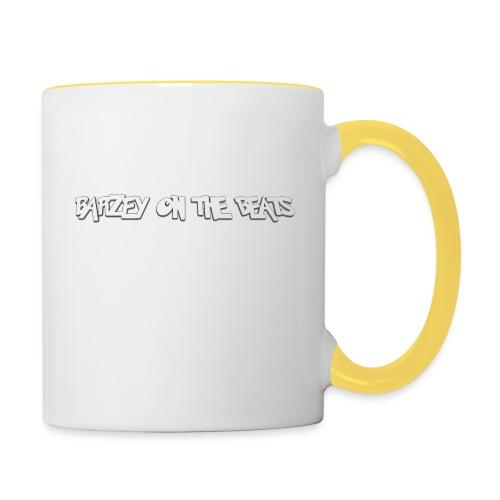 barzey on the beats 4 - Contrasting Mug